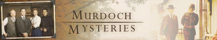 Murdoch Mysteries - logo